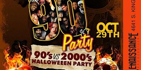 90s Vs 2000s Halloween Party tickets