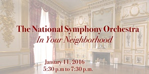 The National Symphony Orchestra - In Your Neighborhood