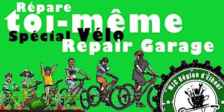 Repair garage-Vélo: diagnostic des pannes gratuitement (après adhésion MJC) billets
