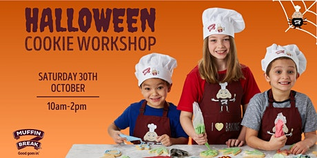 Halloween Cookie Decorating with Muffin Break tickets