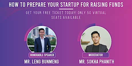 How to Prepare Your Startup for Raising Funds tickets