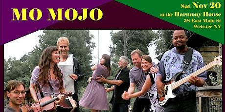 Mo Mojo ~ Energized Zydeco ~ Harmony House Nov 20 tickets
