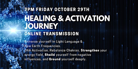 Healing & Activation Journey - Grounding, Sheilding and Strength tickets