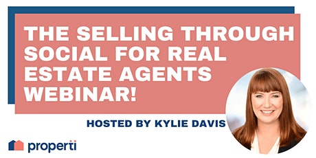 The Selling Through Social for Real Estate Agents Webinar! tickets