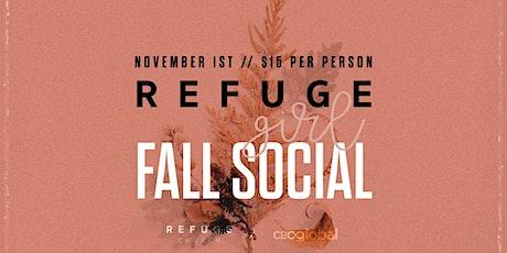 Refuge Girl Fall Social tickets