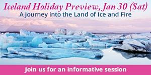 Iceland Holiday Preview (30 Jan 2016, Sat)