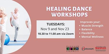 Art for Seniors - Healing Dance Session - November 9, 2021 tickets