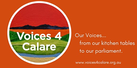 Voices 4 Calare Zoom Kitchen Table Conversations tickets