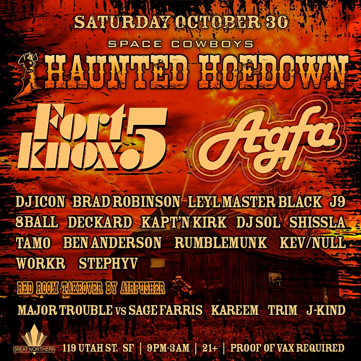 Haunted Hoedown w/ the FORT KNOX FIVE image