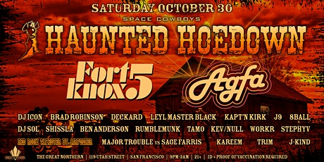 Haunted Hoedown w/ the FORT KNOX FIVE tickets