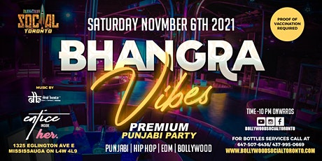 BHANGRA VIBES   A Premium Punjabi Party tickets