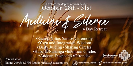 4 Day Silence and Medicine Retreat tickets