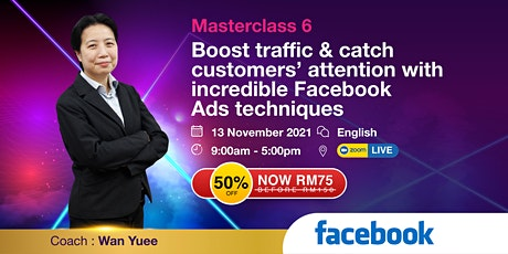 MC 6 - Boost traffic & catch customers' attention with Facebook Ads tickets