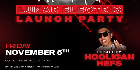 Lunar Electric Launch Party ft. Hooligan Hefs at Kenjin Afterdark tickets