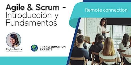 Agile & Scrum - Introducción y Fundamentos entradas