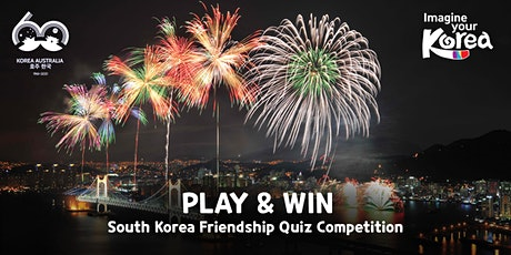 South Korea Friendship Quiz Competition tickets