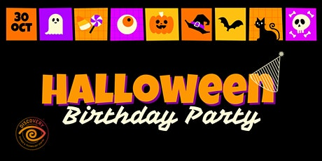 Discovery Halloween Birthday Party tickets