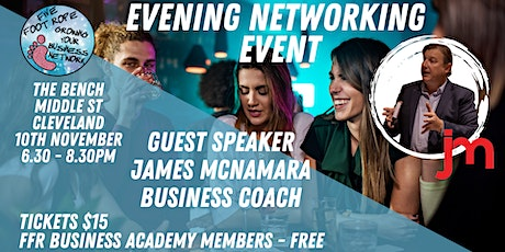 Five Foot Rope Evening Networking Event - November tickets