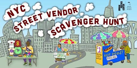 NYC Street Vendor Scavenger Hunt - Kick Off Event! tickets