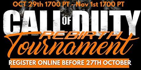 OCD Call of Duty Rebirth Tournament tickets