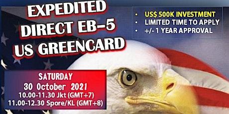FREE WEBINAR : EXPEDITED EB-5 GREENCARD tickets