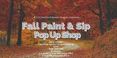 Fall Paint & Sip Pop Up Shop tickets