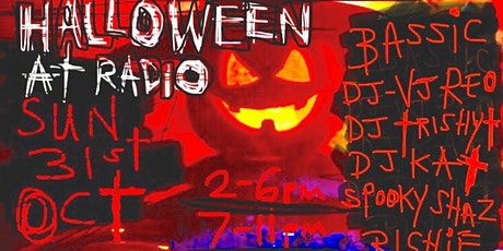 HALLOWEEN Party! (Afternoon Session: 2pm - 6pm) Radio Bar, Fitzroy tickets