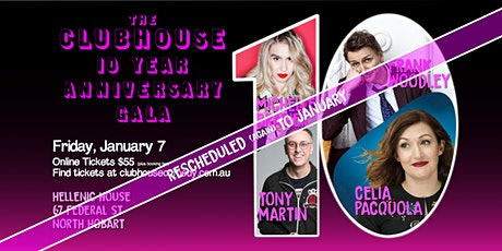 The Clubhouse 10 Year Anniversary Gala tickets