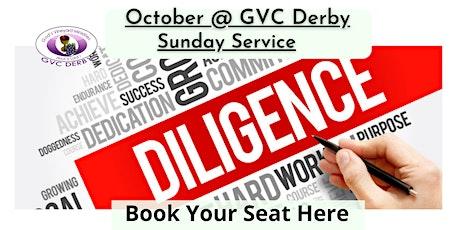 GVC Derby Sunday Service | 24 October 2021 | 10:00am-12:30pm tickets