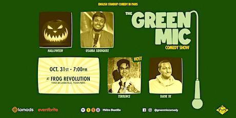 Green Mic Comedy Show #5 - Halloween edition billets