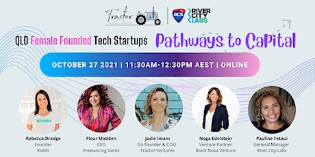QLD Female Founded Tech Startups Pathways to Capital tickets