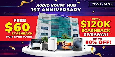 Audio House Hub 1st Anniversary Sale tickets