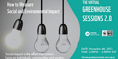 How to Measure Social and Environmental Impact tickets