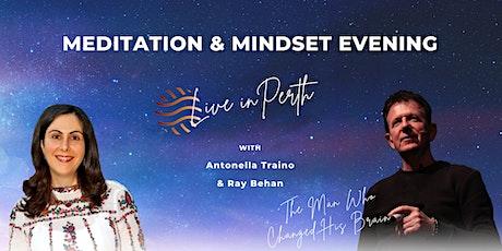 Meditation & Mindset Evening - Perth tickets