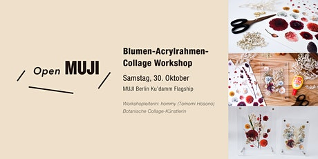 MUJI Ku'damm Workshop: Blumencollagen in Acrylrahmen tickets