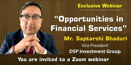ISB&M Webinar - Opportunities in Financial Services tickets