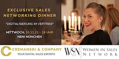 EXCLUSIVE SALES NETWORKING DINNER - MÜNCHEN Tickets