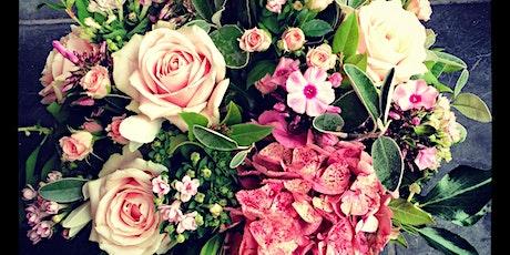 Flowers for Parties - flower centrepiece workshop tickets