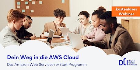 Dein Weg in die AWS Cloud - Erfahre mehr über Amazon Web Services am 09.11. Tickets