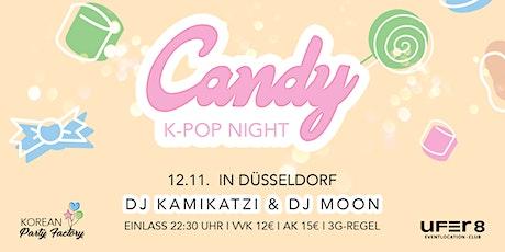 Candy K-Pop Night am 12.11.2021 in Düsseldorf Tickets