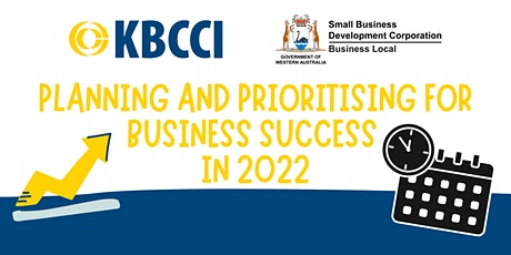Planning and Prioritising for Business Success in 2022 Workshop tickets
