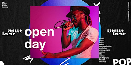 Open Day - The Better Way of Learning - Career in Music & Media tickets