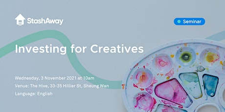Investing for Creatives tickets