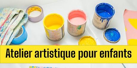 Beaulieu se transforme - Atelier créatif pour enfants billets
