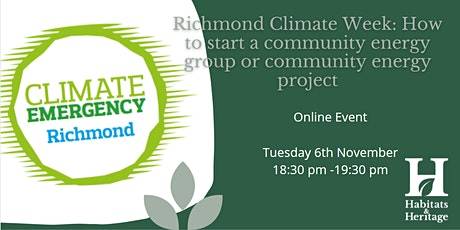 RCW:  How to start a community energy group or community energy project tickets