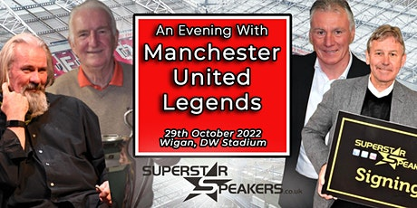 An Evening with Manchester United Legends - Wigan tickets