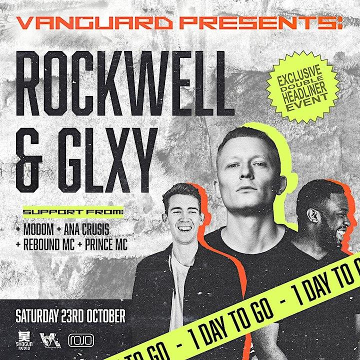 Vanguard present Rockwell & GLXY (Exclusive Double Headline Event) image