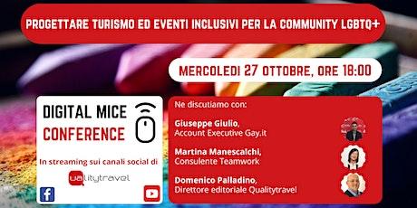 Progettare turismo ed eventi inclusivi per la community LGBTQ+ biglietti