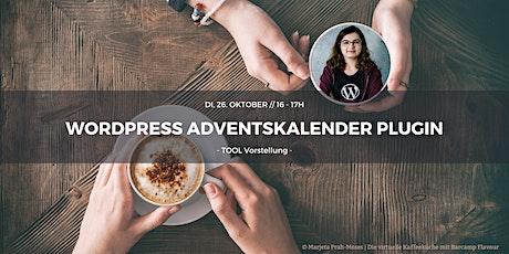 Wordpress Adventskalender Plugin by Jessica Tickets