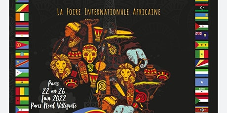 LA FOIRE INTERNATIONALE AFRICAINE à PARIS  (*billet = stand) billets